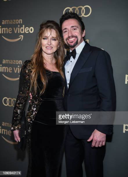 Richard Hammond and Mindy Hammond arrives at Amazon Prime Video's Golden Globe Awards After Party at The Beverly Hilton Hotel on January 06 2019 in...