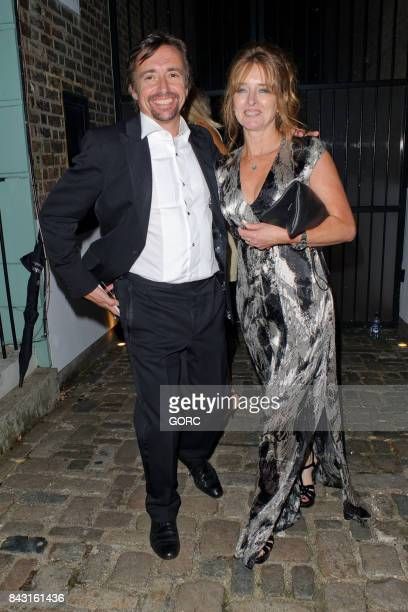 Richard Hammond and Mindy Hammond at the GQ awards afterparty in Primrose Hill on September 5 2017 in London England