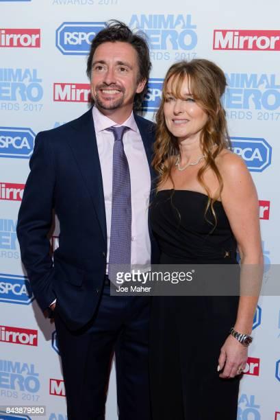 Richard Hammond and Mindy Hammond attend the Animal Hero Awards 2017 at The Grosvenor House Hotel on September 7 2017 in London England