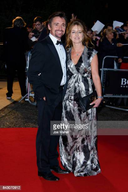 Richard Hammond and Mindy Hammond attend the GQ Men Of The Year Awards at Tate Modern on September 5 2017 in London England