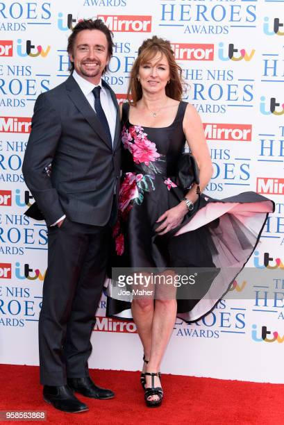 Richard Hammond and Mindy Hammond attend the 'NHS Heroes Awards' held at the Hilton Park Lane on May 14 2018 in London England