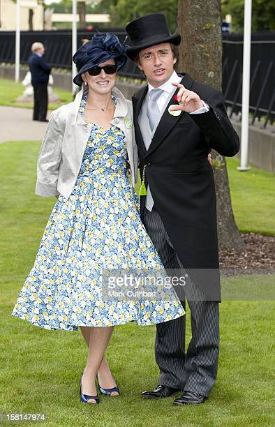 Richard Hammond And Mindy Hammond Attend The Second Day Of Royal Ascot