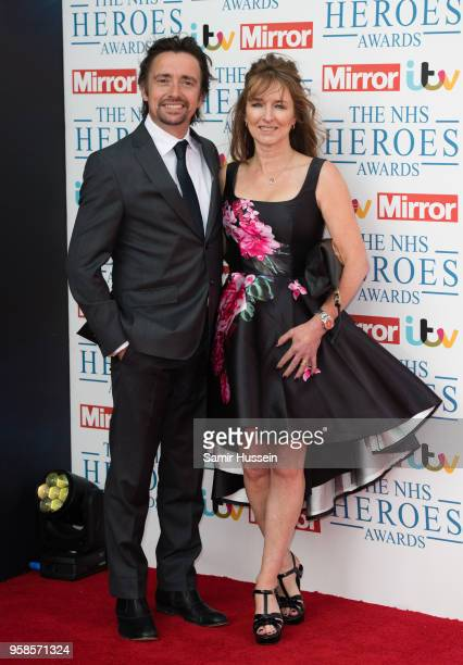 Richard Hammond and Mindy Hammond attends the 'NHS Heroes Awards' held at the Hilton Park Lane on May 14 2018 in London England
