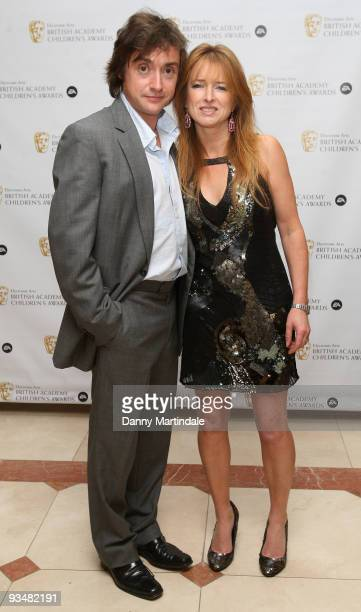 Richard Hammond and wife attend the EA British Academy Children's Awards 2009 at London Hilton on November 29 2009 in London England