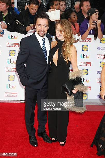 Richard Hammond and wife Mindy attend the Pride of Britain awards at The Grosvenor House Hotel on September 28 2015 in London England