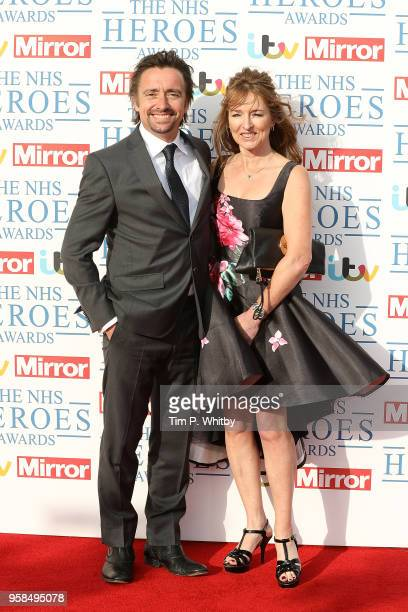 Richard Hammond and wife Mindy Hammond attend the 'NHS Heroes Awards' held at the Hilton Park Lane on May 14 2018 in London England