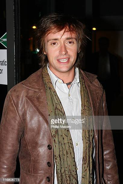 Richard Hammond at the Late Late Show at the RTE Studios on October 19 2007 in Dublin Ireland