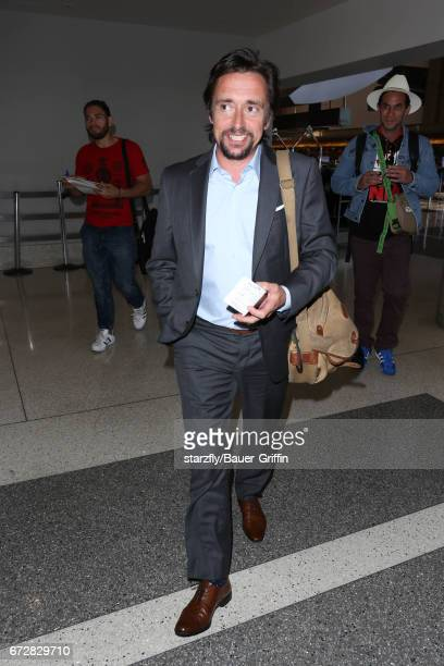 Richard Hammond is seen at LAX on April 24 2017 in Los Angeles California