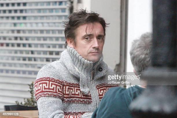 Richard Hammond is seen on January 10 2012 in London United Kingdom