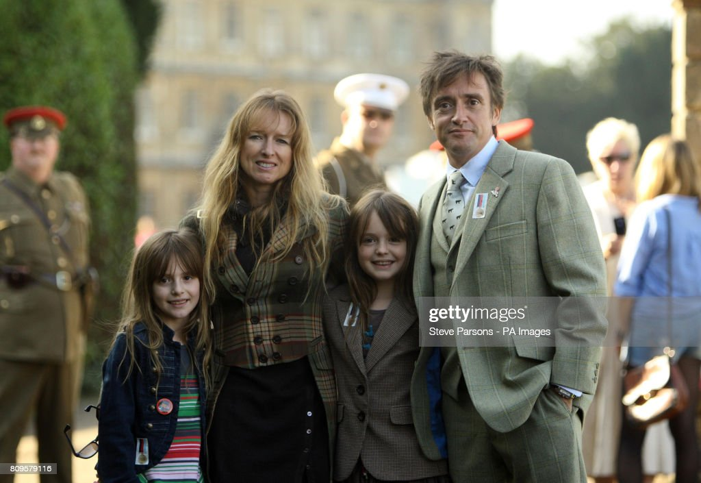 Richard Hammond Wife Amanda And Children At Heroes Highclere Charity Auction For Armed Forces