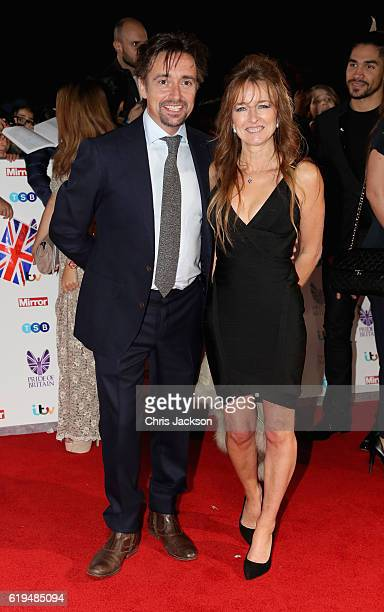 Richard Hammond with his wife Amanda Etheridge attend the Pride Of Britain awards at the Grosvenor House Hotel on October 31, 2016 in London, England.