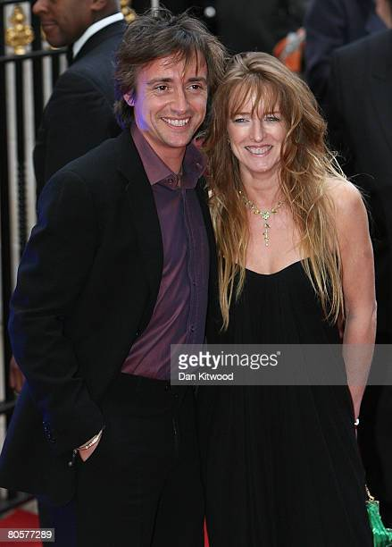 Richard Hammond with his wife Mindy attends the Galaxy British Book Awards held at the Grosvenor House Hotel on April 9 2008 in London England