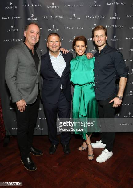 Richard Handler Tilman Fertitta and Stephanie Ruhle attend as Haute Living and Louis XIII celebrate Tilman Fertitta cover and book release on...