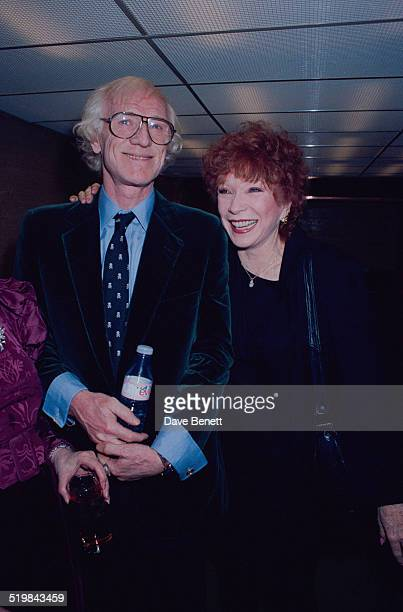 Richard Harris and Shirley MacLaine at the Evening Standard Theatre Awards held at the Savoy Hotel London November 1990 Harris won Best Actor for...