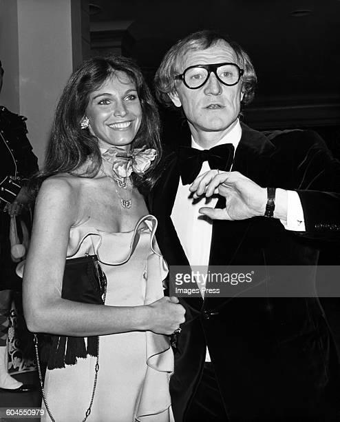 Richard Harris and wife Ann Turkel circa 1975 in New York City