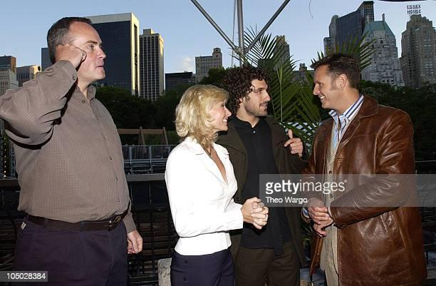 Richard Hatch Tina Wesson Ethan Zohn and Mark Burnett