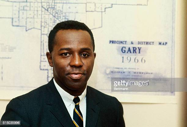 Richard Hatcher was the first Black mayor of Gary Indiana