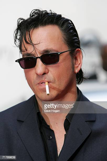 Richard Hawley arrives at the annual Nationwide Mercury Prize music awards ceremony at Grosvenor House on September 5 2006 in London England
