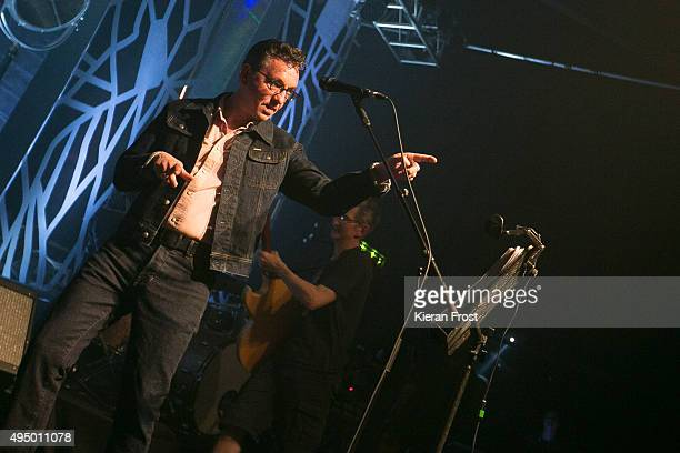 Richard Hawley performs at Vicar Street on October 30, 2015 in Dublin, Ireland.