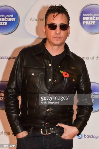 Richard Hawley poses at the nominee arrivals area during the Mercury Music Prize Awards Ceremony at The Roundhouse on November 1, 2012 in London,...