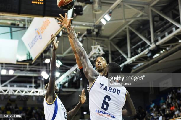 Rasheed Sulaimon of Levallois Metropolitans during the Jeep Elite match between Levallois Metropolitans and Le Mans at Salle Marcel Cerdan on...