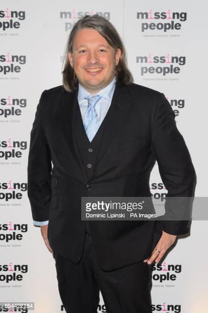 Richard Herring arriving at the Missing People gala dinner marking the charity's 20th anniversary at the Victoria Albert Museum London
