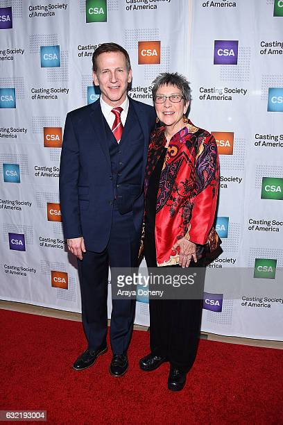 Richard Hicks and JoEdna Boldin arrive at the 2017 Annual Artios Awards at The Beverly Hilton Hotel on January 19 2017 in Beverly Hills California