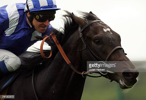 Richard Hills and Aqaleem land The totesport Derby Trial Stakes Race run at Lingfield Racecourse on May 12 in Lingfield England