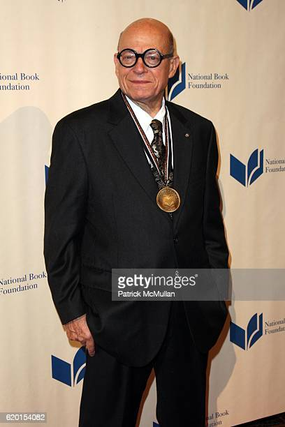 Richard Howard attends THE NATIONAL BOOK AWARDS 59th Annual Ceremony and Benefit Dinner at Cipriani's Wall St on November 19 2008 in New York City