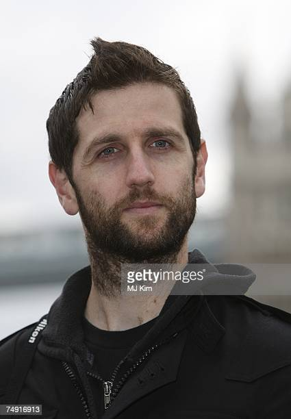 Richard Hughes of Keane poses at the opening of the Summer Exhibition, Gibson Guitartown London at More London on June 26, 2007 in London, England....