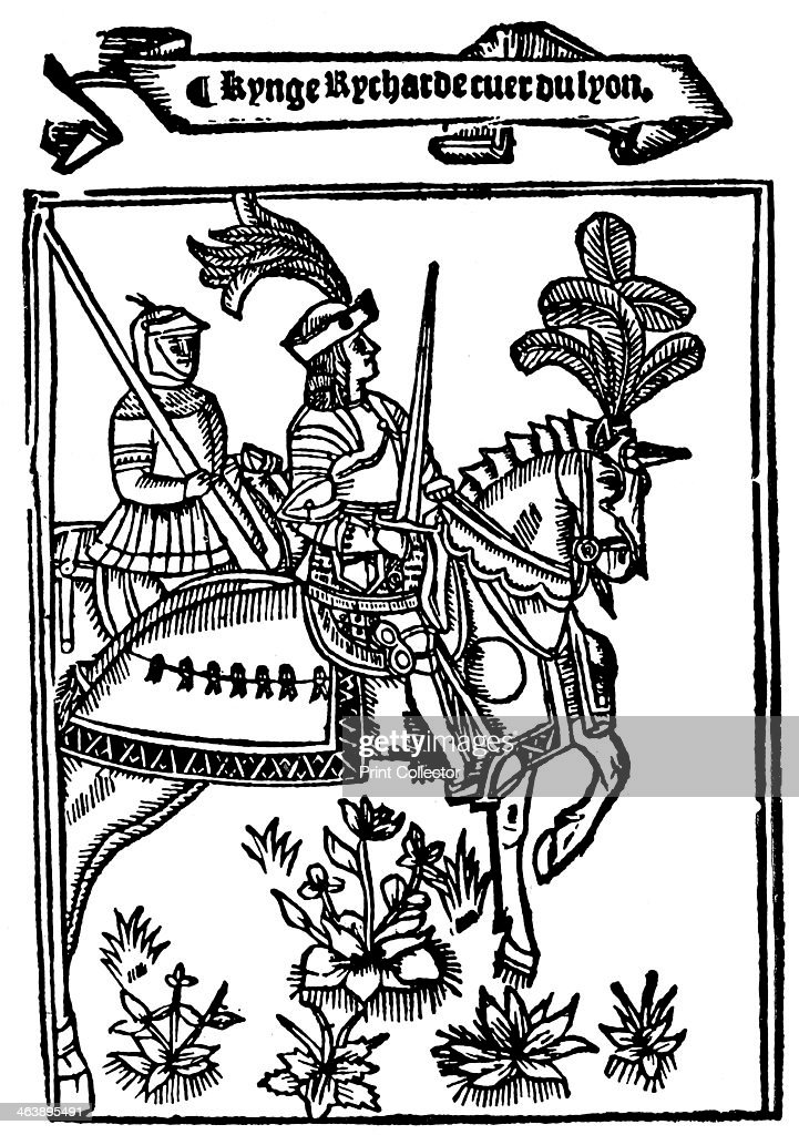 Richard I Coeur de Lion (Lionheart), 12th century King of England, 1528