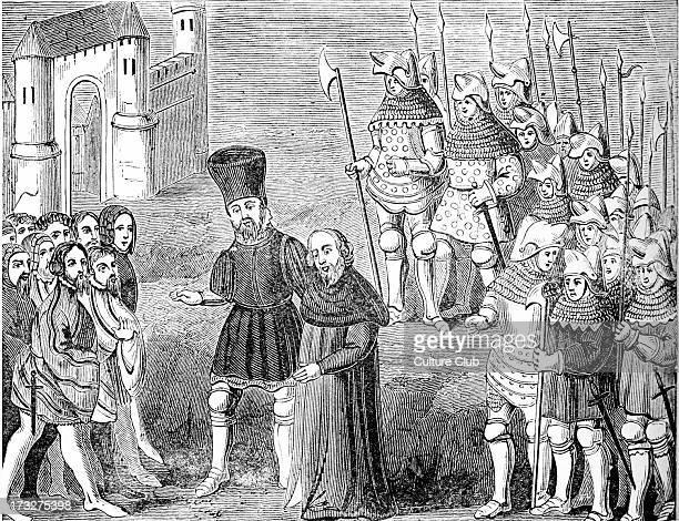 Richard II and Henry Bolingbroke arrive in London 1399 Bolingbroke son of John of Gaunt landed at Ravenspur in Yorkshire towards the end of June 1399...