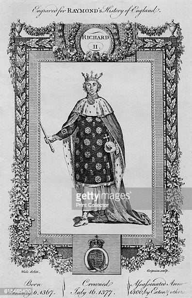 Richard II' c1787 Also known as Richard of Bordeaux was King of England from 1377 until he was deposed on 30 September 1399 He succeeded the throne...