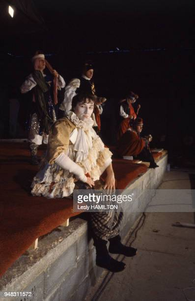 'Richard II' de William Shakespeare par la compagnie du Théâtre du Soleil d'Ariane Mnouchkine en décembre 1981 à Paris France