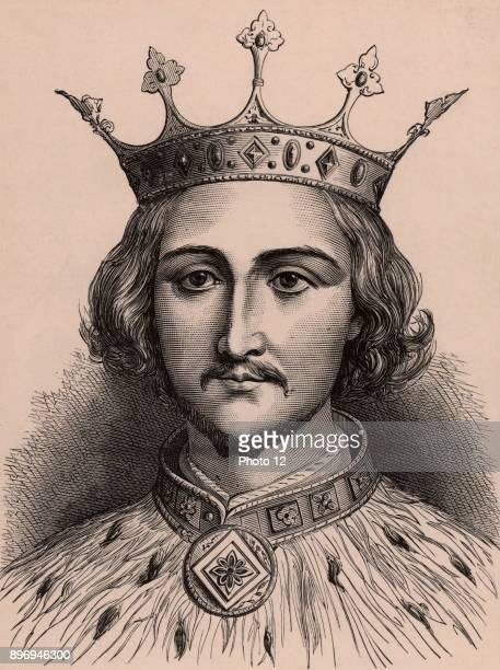 Richard II king of England from 1377 forced to abdicate September 1399 in favour of Henry Bolingbroke Died probably murdered in Pontefract Castle...