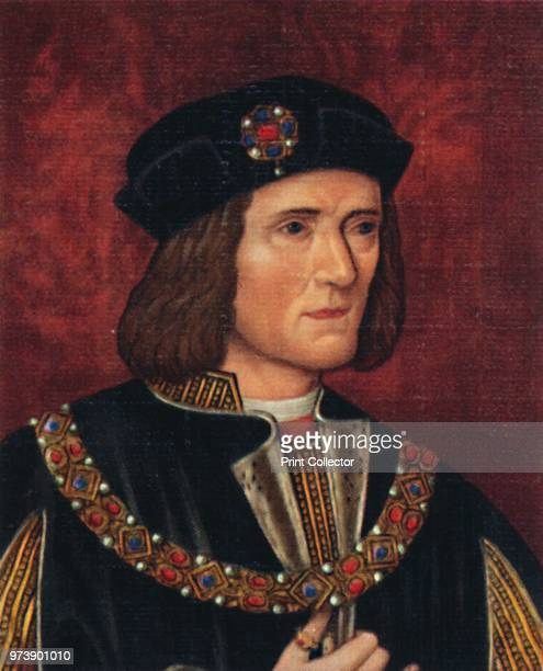 'Richard III', 1935. Richard was King of England from 1483 until his death and the last king from the House of York. After the death of his brother...