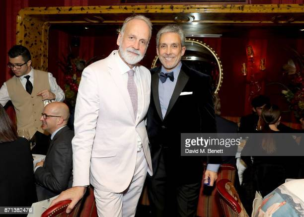 Richard James and Charles S Cohen attend the Richard James 25th Anniversary event hosted by Richard James Charles S Cohen and Sean Dixon at Loulou's...
