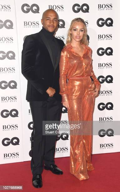 Richard James Sutton and Katie Piper attends the GQ Men of the Year awards at the Tate Modern on September 5 2018 in London England