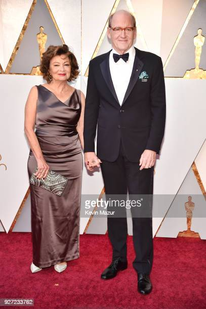 Richard Jenkins and Sharon R Friedrick attend the 90th Annual Academy Awards at Hollywood Highland Center on March 4 2018 in Hollywood California