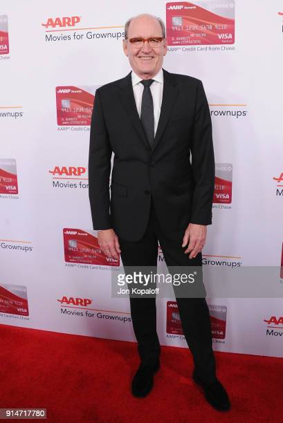 Richard Jenkins attends AARP's 17th Annual Movies For Grownups Awards at the Beverly Wilshire Four Seasons Hotel on February 5 2018 in Beverly Hills...