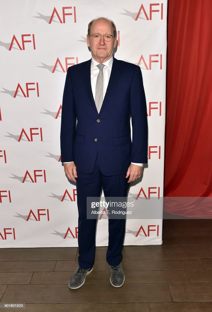 Richard Jenkins attends the 18th Annual AFI Awards at Four Seasons Hotel Los Angeles at Beverly Hills on January 5, 2018 in Los Angeles, California.