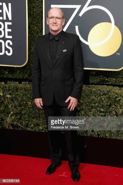 Richard Jenkins attends The 75th Annual Golden Globe Awards at The Beverly Hilton Hotel on January 7 2018 in Beverly Hills California