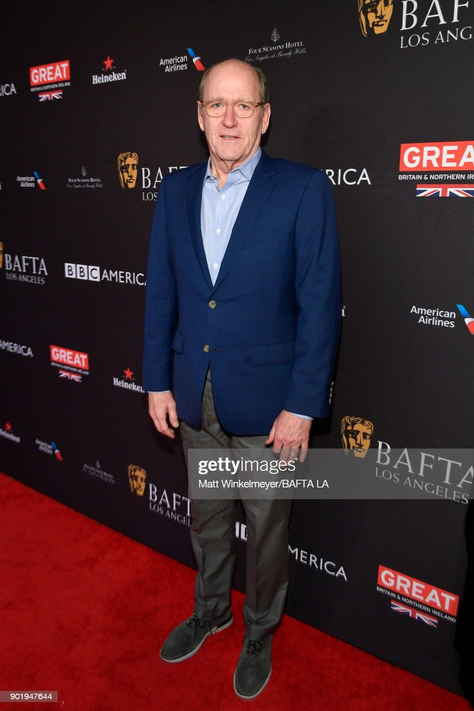 Richard Jenkins attends The BAFTA Los Angeles Tea Party at Four Seasons Hotel Los Angeles at Beverly Hills on January 6, 2018 in Los Angeles, California.