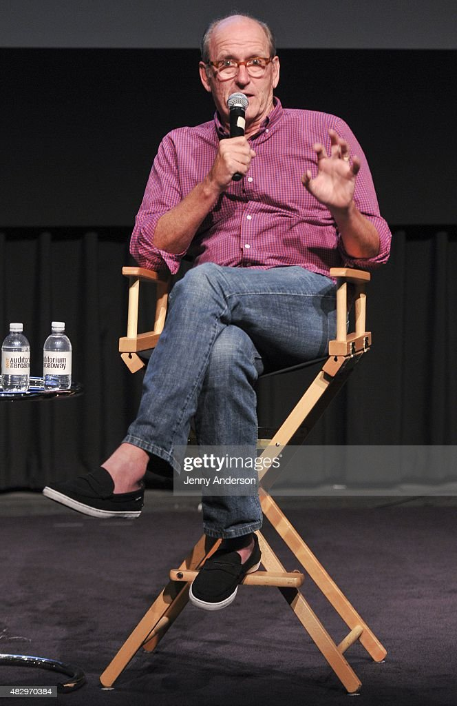 Richard Jenkins discusses his show 'Olive Kitteridge' during SAG Foundation's Backstage Emmy Series at NYIT Auditorium on August 4, 2015 in New York City.