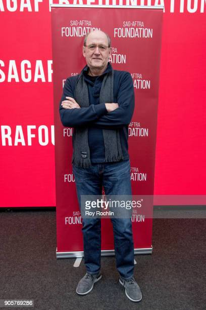 Richard Jenkins discusses 'The Shape Of Water' during SAGAFTRA Foundation Conversations at The Robin Williams Center on January 16 2018 in New York...