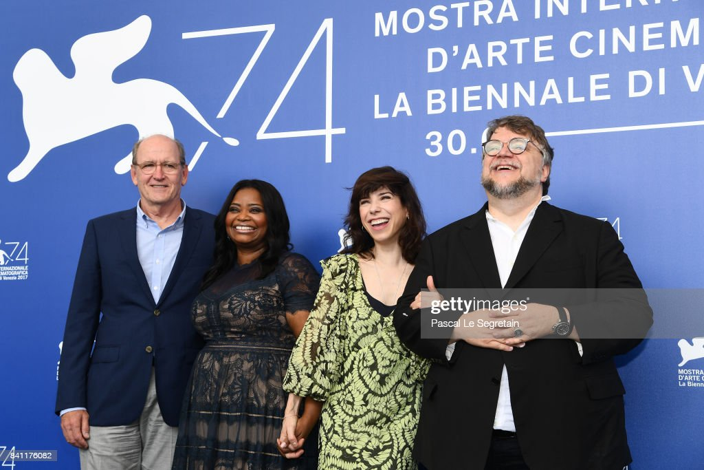 Richard Jenkins, Octavia Spencer, Sally Hawkins and director Guillermo del Toro attend the 'The Shape Of Water' photocall during the 74th Venice Film Festival on August 31, 2017 in Venice, Italy.