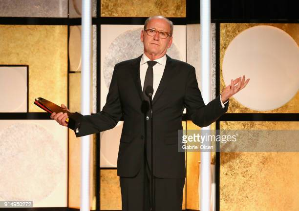 Richard Jenkins winner of Best Supporting Actor for The Shape of Water speaks onstage during AARP The Magazine's 17th Annual Movies For Grownups...