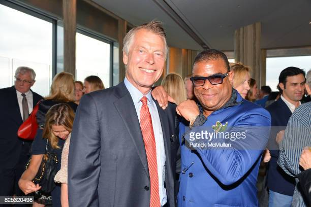 Richard Johnson and George Wayne attend Magrino PR 25th Anniversary at Bar SixtyFive at Rainbow Room on July 25 2017 in New York City