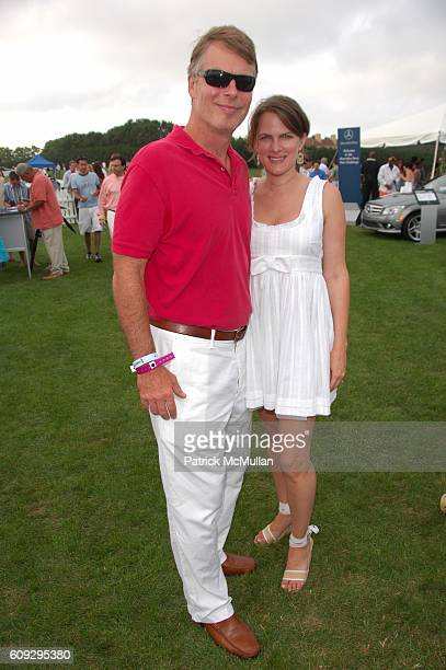 Richard Johnson and Sess von Richthoffen attend TMobile Sidekick Lounge at Alice Olivia's Week 2 of MercedesBenz Polo at Jet One Jets Field on July...