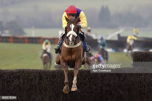 Richard Johnson riding Native River clear the last to win The Coral Welsh Grand National Steeple Chase at Chepstow Racecourse on December 27 2016 in...